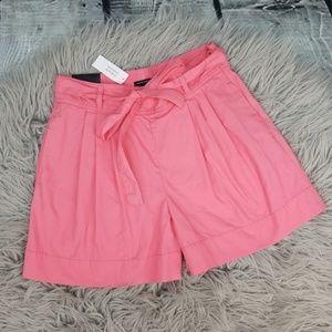 {New} Banana Republic Pink High Waist Shorts 4